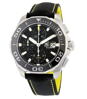 TAG HEUER Aquaracer Chronograph Black Dial Men's Watch