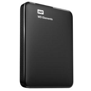 $61.36WD 2TB Elements Portable External Hard Drive - USB 3.0 - WDBU6Y0020BBK-EESN