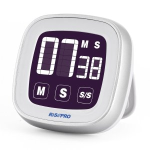 RISEPRO Touchscreen Digital Kitchen Cooking Timer