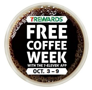 Free Coffee Week @ 7-Eleven