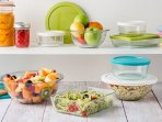 $11 Pyrex 10-Piece Simply Store Set with Colored Lids