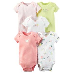 Baby Girl 5-Pack Original Bodysuits | Carters.com