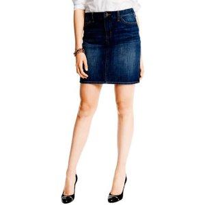 5 Pocket Jean Skirt