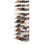 $19.99(原价$28.75) Whitmor 鞋架 容纳30双鞋