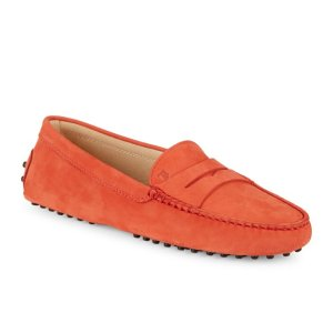 Tod's - Gommini Leather Penny Loafers - saksoff5th.com