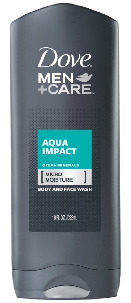 Dove Men+Care Body Wash, Aqua Impact 18 oz