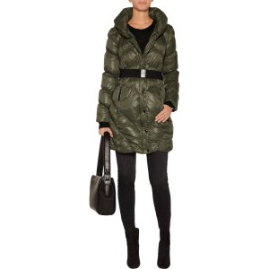Vera belted quilted shell coat | W118 by Walter Baker | US | THE OUTNET