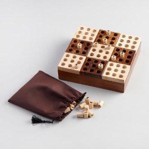 Wood Sudoku Game Set | World Market