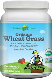 $46.07 Amazing Grass Organic Wheat Grass 100 Serving, 28.2 oz @ Amazon