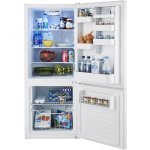 Insignia 10.2 Cu. Ft. Bottom-Freezer Refrigerator White