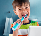 $34.95 Philips Sonicare for Kids Connected Sonic Electric Toothbrush, HX6321/02