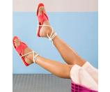 Melissa Shoes Maio Red - 6pm.com