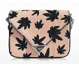 Alexander Wang Mini Prisma Envelope Sling Cameo Pink Elaphe Crossbody Bag