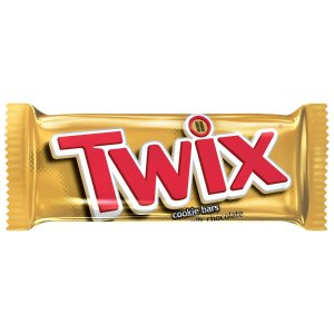 TWIX Caramel Singles Size Chocolate Cookie Bar Candy 1.79-Ounce Bar 36-Count Box