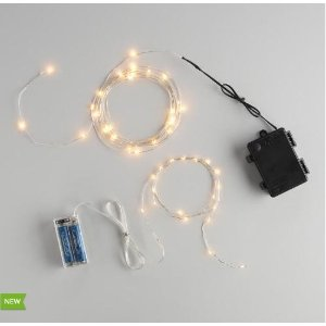 Micro LED Battery Operated String Lights | World Market