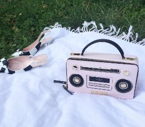 $298.5 jazz things up boom box bag @ kate spade