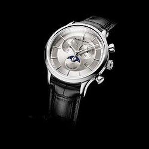 Maurice Lacroix Les Classiques Silver Dial Chronograph Men's Watch LC1148-SS001-131