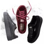 FENTY Puma by Rihanna Women's Velvet Creeper Sneakers @ Neiman Marcus