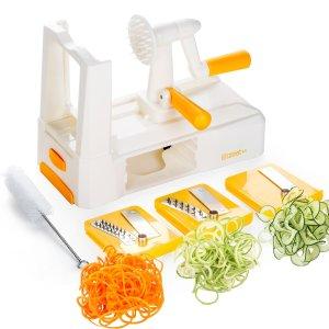 Zestkit Tri-Blade Vegetable Spiral Slicer