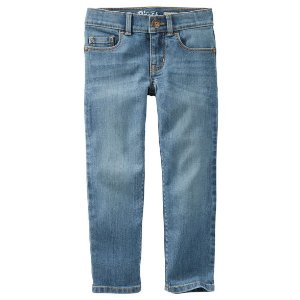 Kid Girl Skinny Soft Jeans - Upstate Blue | OshKosh.com