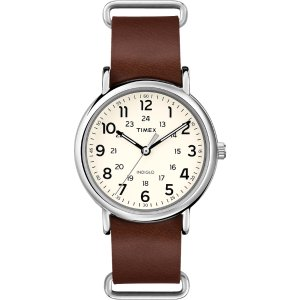 Weekender™ Leather Oversized - Timex US