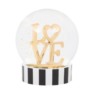 Love Snow Globe - Festive Metallics - T.J.Maxx