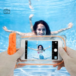 $3.24 Each! 4 Pack F-color Clear Waterproof Case