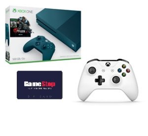 Free Controller+$30 Giftcard! Only $249.99Xbox One S Gears of War 4 Special Ed. 500GB Console Bundle