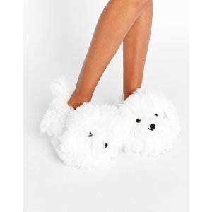 New Look Shaggy Dog Slipper