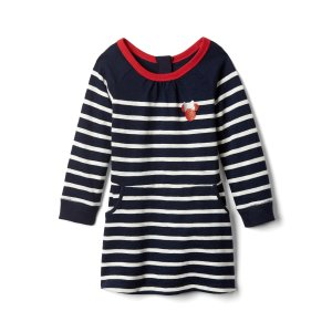 babyGap | Disney Baby Minnie Mouse stripe dress | Gap