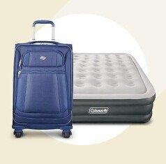 $25 Off $100 Luggage & Airbeds Sale @ Target.com