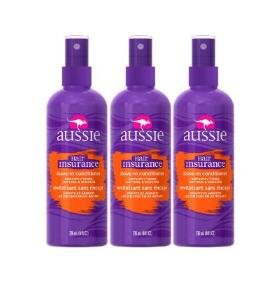 $3.57 Aussie Hair Insurance Leave-In Conditioner 8 Fl Oz (Pack of 3)