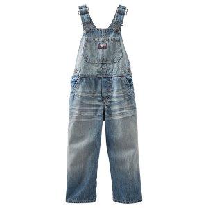Baby Boy Denim Overalls - Dakota Wash | OshKosh.com