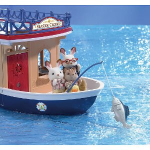 2016 Black Friday! $49.99 Calico Critters Seaside Cruiser Houseboat