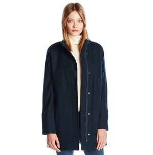 $43.24Lucky Brand 女士羊毛混纺大衣
