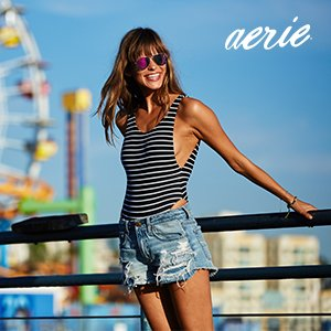 Take an Extra 10% OffAEO Clearance @ Aerie.com
