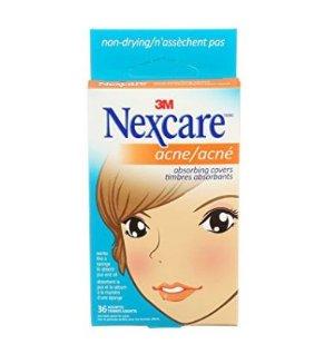 祛痘神器!Nexcare Acne Absorbing Cover 痘痘治疗贴,36片