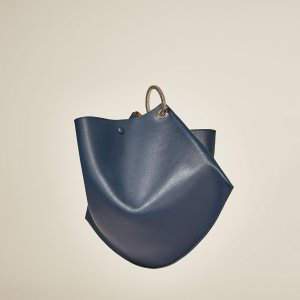 MINI STUDIO LEATHER BUCKET BAG WITH HOOPS - View all-BAGS-WOMAN | ZARA United States