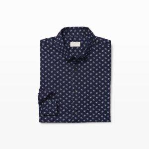 Mens | Print | Slim Paisley Floral Shirt | Club Monaco