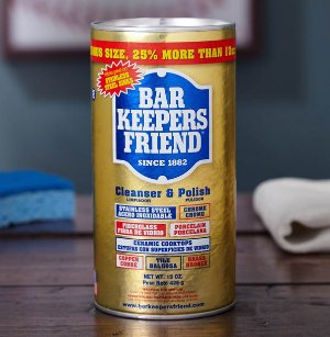 $2.32 Bar Keeper's Friend 12 Oz Cleaner and Polish