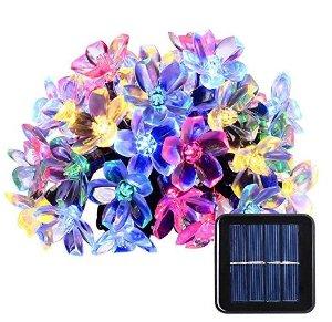 4.5折!$5.39起节日就要亮亮亮!Qedertek 太阳能LED 室内/室外节日装饰灯束