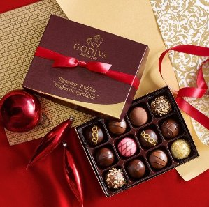 Buy One Get one 50% OffHoliday Gift @ Godiva