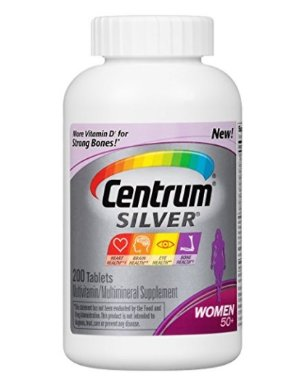 $12.91Centrum Silver, For Women 50+, 200-Count Bottle