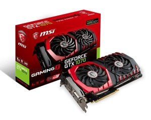 $379.99 MSI GeForce GTX 1070 GAMING X 8G Graphics Card + Watch Dog 2 (PC)