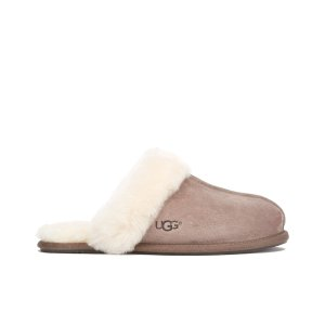UGG Women's Scuffette II Sheepskin Slippers - Stormy Grey - Free UK Delivery over £50