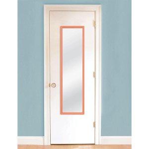 MCS 49.5 in. H x 13.375 in. W Coral Door Framed Mirror