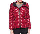 Moncler Badete Short Hooded Puffer Coat