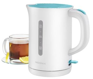 Insignia™ - 1.5L Electric Kettle - Blue