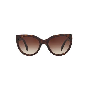 Prada PR 05PS 55 Brown & Tortoise Sunglasses | Sunglass Hut USA