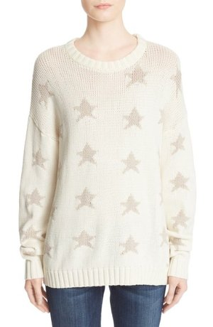 BANJO & MATILDA 'Teak Star' Crewneck Sweater